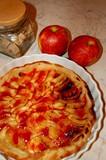 tartes,pommes et sucre poster