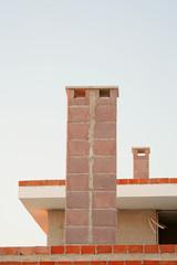 residential building chimneys