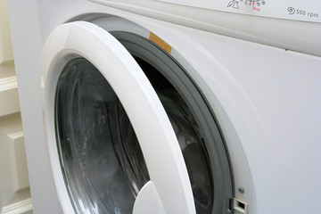 washing-machine partial view