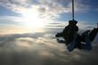 Leinwandbild Motiv tandem skydive