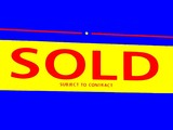 sign.sold.subject to contract.abstract. poster