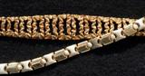 gold bracelets poster