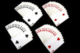 playing card arrangement poster