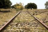 abandoned railway poster