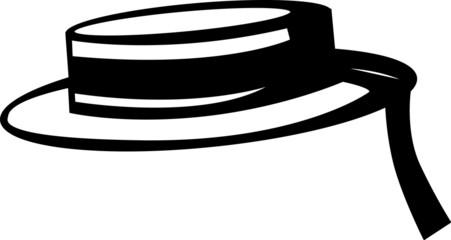 venetian gondolier style hat