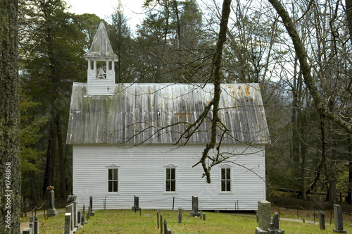 cades cove - methodist church