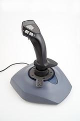 joystick isolated on white