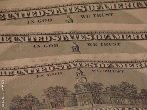 america trusting in god