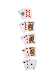 winning combinations in blackjack poster