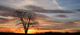 lever de soleil panorama poster