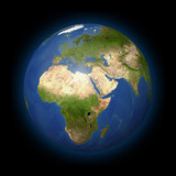 Naklejka Ziemia w kosmosie