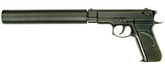 9mm gun with silencer