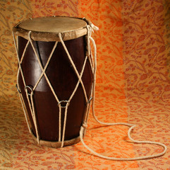indian handmade drum