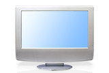 digital lcd television & lcd monitor poster