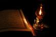 koran and lantern