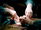 hands of surgeons poster