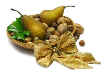 christmas golden pears