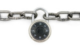 chain and combination lock poster