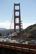 canvas print picture verkehr auf der golden gate bridge