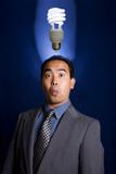 light bulb idea 2 poster
