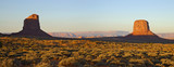 dawn monument valley pano 1 poster