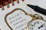 to do list and pocket watch 2 poster
