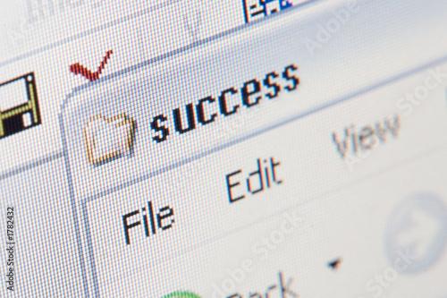 poster of success folder