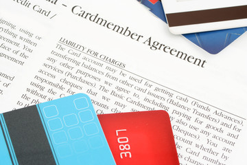 credit card agreement