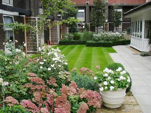 poster of garden terrace