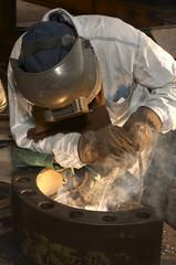 weld in pipe