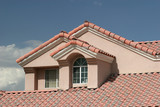 stucco home detail poster