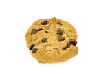 single chocolate chips cookie poster