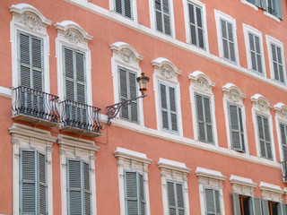 old windows in rome (italy)