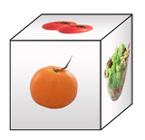 healthy diet cube poster