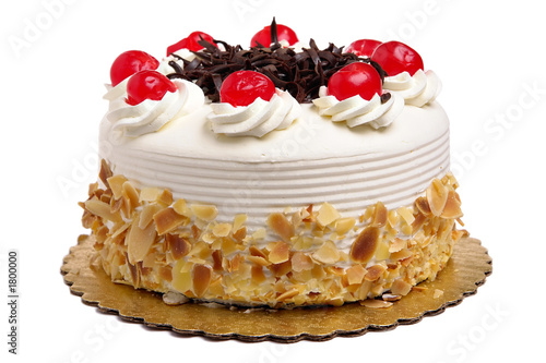 cake with cherries - 1800000
