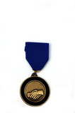 co-operation medal poster