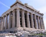 parthenon of acropolis poster