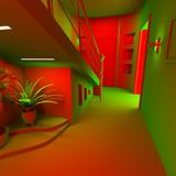 acid modern interior poster