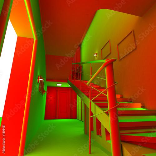 poster of acid modern interior