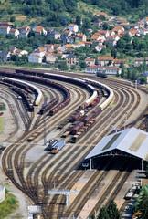 railway junction capdenac gare aveyron midi pyrene