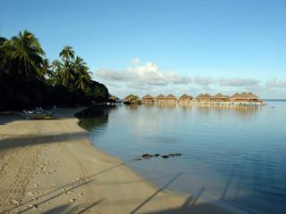 gli overwater polinesiani
