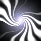 swirly burst poster