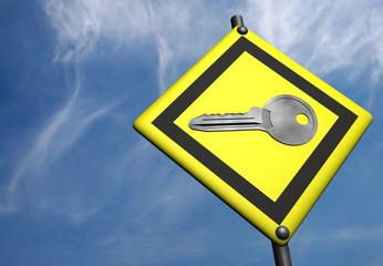 key on indicator