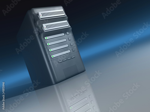 poster of server