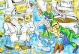 kitchen chaos poster