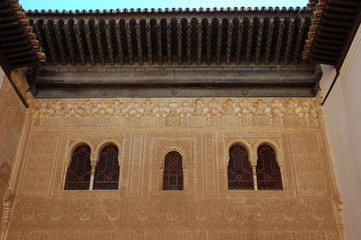 im nasriden palast, alhambra