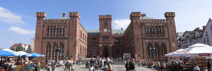 kolobrzeg - old city - town hall - poland