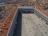 an aerial view of venice city #4 poster