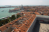 an aerial view of venice city #3 poster