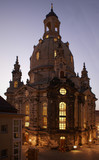dresden's frauenkirche at night